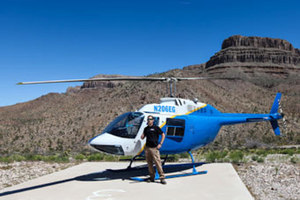 WA2 Ultimate Grand Canyon Western Experience w/ Helicopter Tour, Horseback Ride, & Wild West Experience Photo 1